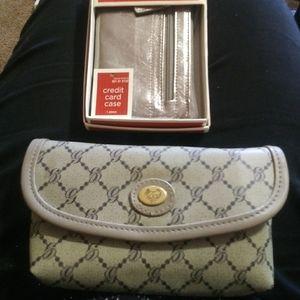 Wallet & CC holder both brand new